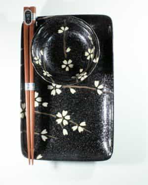 Black Sakura Sushiset